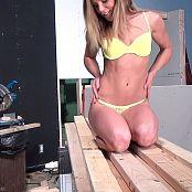 Madden Yellow Bikini HD Video