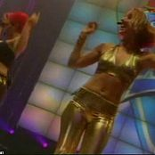 Alice Deejay Will I Ever Live TMF Sexy Shiny Golden Outfit Video