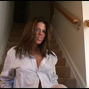 Blueyedcass Womanizer Staircase Striptease HD Video