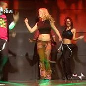 Britney Spears Medley Live CDLive Rai Due 2004 Video