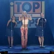 Britney Spears Lucky Live Top Of The Pops 2001 Video