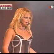 Britney Spears Me Against The Music Live Showcase Seoul 2003 Video