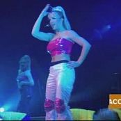 Britney Spears Medley Live Sexy Pink Latex & Schoolgirl Outfits Video