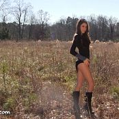 Brittany Marie Outdoor Photoshoot Bonus HD Video