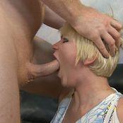 Amateur Blonde Gets Rough Throat & Ass Fuck HD Video