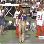 Jennifer Lopez Play Live Superbowl 2001 Video
