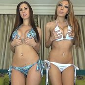 Princess Ashley & Bratty Nikki Brats Lock Your Loser Dick Up HD Video