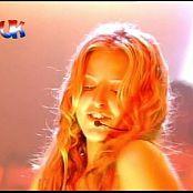 Holly Valance Kiss Kiss Live VMA 2002 Video