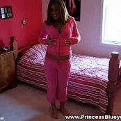 Princessblueyez Gorgeous Teenager In Pink Teasing Video