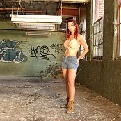 Bianca Beauchamp Sexy In Jeans Abandoned Building Picture Set
