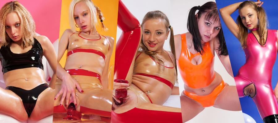 66Latex Young Teen Models In Latex Outfits Picture Sets Siterip