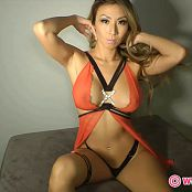 KTso See Through Red Sheer With Tiny Thong HD Video