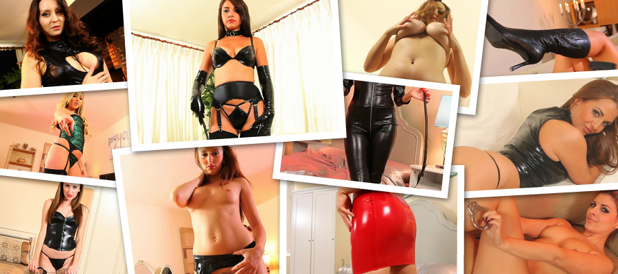 StrictlyGlamour Sexy Models In Latex & Leather HD Videos Siterip