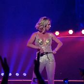 Britney Spears Medley POM Las Vegas Golden Outfit HD Video