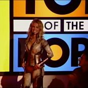 Britney Spears Overprotected Live TOTP Skin Tight Catsuit Video