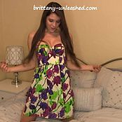 Brittany Marie Flower Sun Dress HD Video