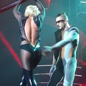 Britney Spears 3 Wardrobe Malfunction With New Shiny Catsuit HD Video