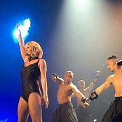 Britney Spears Breakdown POM Black Leotard Outfit HD Video