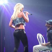 Britney Spears Shiny Leggings And Pink Bra Live HD Video