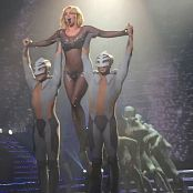 Britney Spears Sparkling Catsuit POM Tour HD Video