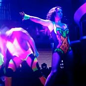 Britney Spears Boys Live Neon Rave Outfit HD Video