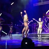 Britney Spears Work Bitch Live Las Vegas Sparkling Catsuit HD Video