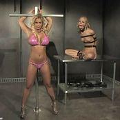 Shyla Stylez & Leah Wilde Sexy Babes Tortured In Dungeon BDSM Video