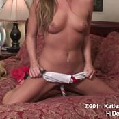 Katies World Candy Cane Masturbation HD Video
