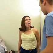 Young Ashley Blue Anally Fucked By 2 Dudes Video