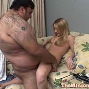 Nasty Fat Guy Gets To Fuck Gorgeous Teen Blonde Kayla Marie Video