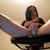 Aleah Jasmine Chair Rub Masturbation HD Video