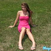 Blueyedcass Pink Dress Summers Day Picture Set 006