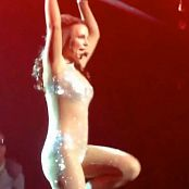 Britney Spears 3 Live POM Shiny Glitter Catsuit HD Video