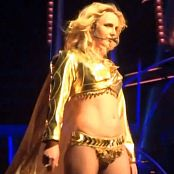 Britney Spears Boys Live Golden Sexy Seductress Outfit HD Video