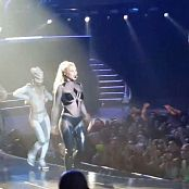 Britney Spears Womanizer Live 2015 Shiny Catsuit HD Video