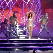 Britney Spears Las Vegas Sexy Glitter Outfit HD Video
