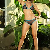 KTso Black Turquoise Bikini Loyal Picture Set 1084