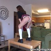 Nextdoornikki Black Schoolgirl Outfit Video