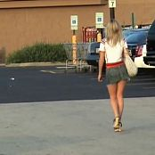 Teen Kasia Walking Into A Store Video