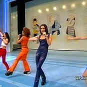 Spice Girls Spice Up Your Life Live Rai Uni 1998 Video