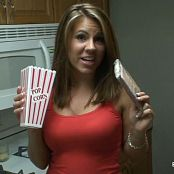 Blueyedcass Making Popcorn For Movie Time HD Video