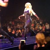Britney Spears Very Sexy Shiny Black Catsuit Live 2014 HD Video
