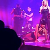 Britney Spears Black Spandex Catsuit Live Las Vegas 2014 HD Video
