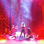 Britney Spears Slave 4 U Sexy Devil Horns Halloween Outfit HD Video