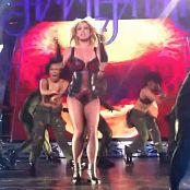 Britney Spears Till The World Ends Live Black Latex Corset Bootleg HD Video