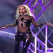 Britney Spears Sexy Shiny Catsuit Close Up Video