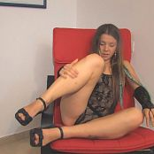 Emily18 Sexy Black Mesh Outfit HD Video