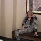 Sherri Chanel Comfy Grey Photoshoot HD Video