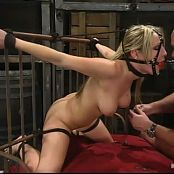 Harmony Rose Tied Up To Bed And Anally Fucked BDSM Video
