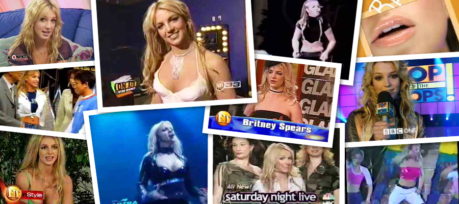Britney Spears Early Years Interviews & Appearances Megapack